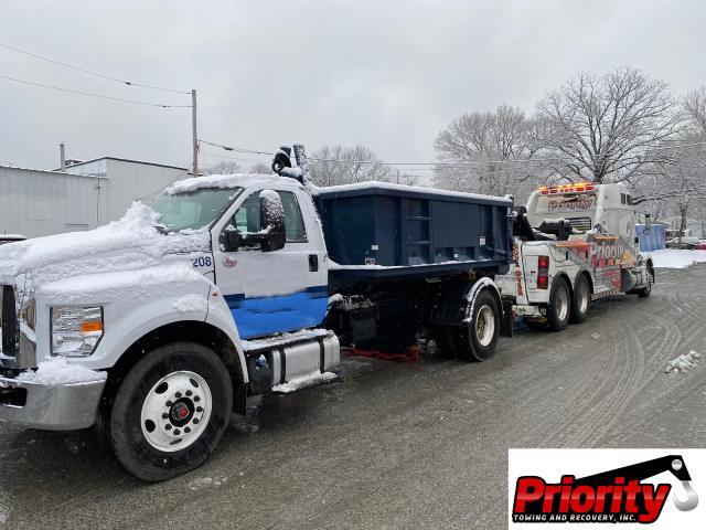 dump truck tow
